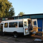 coventry wheelchair access minibus hire