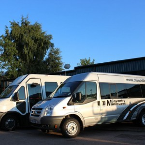minibus hire Coventry by Coventry Minibuses - luxury, wheelchair, business and fun