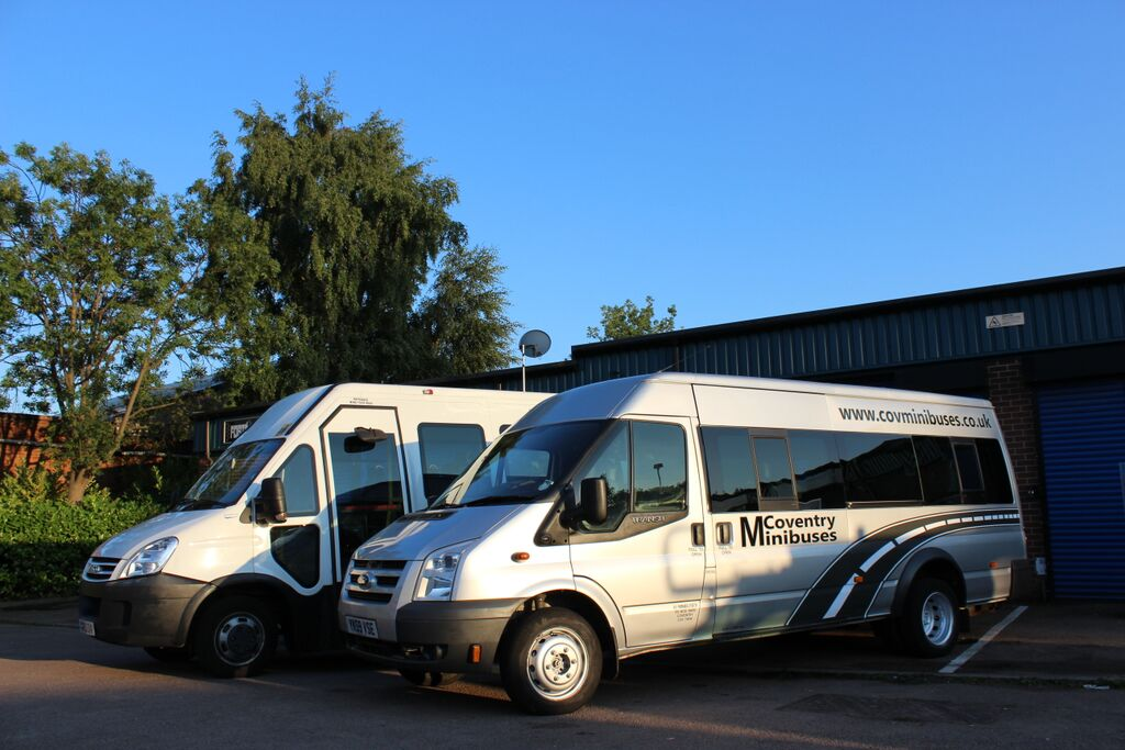Quality and well maintained vehicles are always provided for minibus hire in Coventry