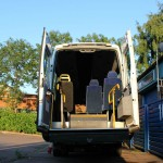 wheelchair access minibus hire in coventry